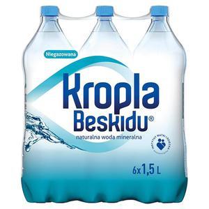 Woda KROPLA BESKIDU op.6 1,5l. niegazowana - 2883644911