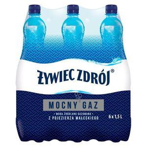 Woda ŻYWIEC op.6 1,5l. - gazowana - 2883644922