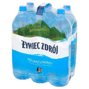 Woda ŻYWIEC op.6 1,5l. - niegazowana - 2883644924