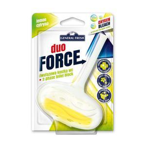 Kostka do WC GENERAL FRESH DUO FORCE zawieszka 40g cytryna - 2883645113