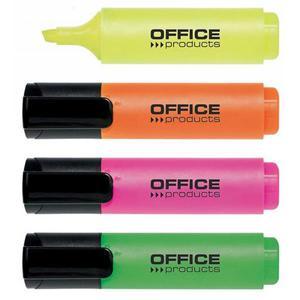 Zakreślacz OFFICE PRODUCTS 2-5mm - 4szt. mix kolorów - 2883646076