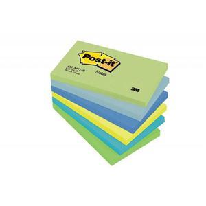Karteczki samop. POST-IT 655-MTDR, 127x76mm, 6x100 kart., paleta marzycielska - 2883646100