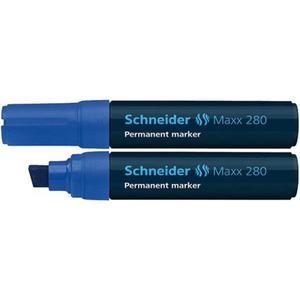 Marker SCHNEIDER permane. 280 ścięty niebieski - 2883646174