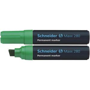 Marker SCHNEIDER permane. 280 ścięty zielony - 2883646175