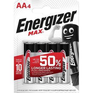 Bateria ENERGIZER Max AA LR6 1,5V 4szt. - 2884982580