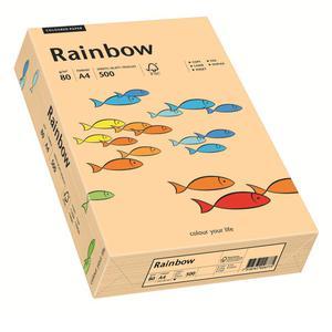 Papier xero A4 kolor RAINBOW past. - łosoś 40 - 2825403085