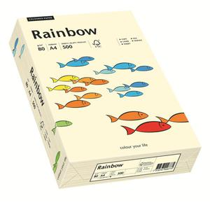 Papier xero A4 kolor RAINBOW past. - kremowy 3 - 2825403086