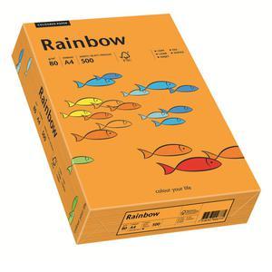 Papier xero A4 kolor RAINBOW intens. - pomarań. 24 - 2825403088