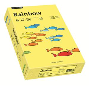 Papier xero A4 kolor RAINBOW intens. - żółty 16 - 2825403090