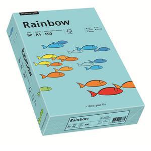Papier xero A4 kolor RAINBOW past. - morski 84 - 2825403091