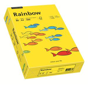 Papier xero A4 kolor RAINBOW intens. - c.żółty 18 - 2825403092