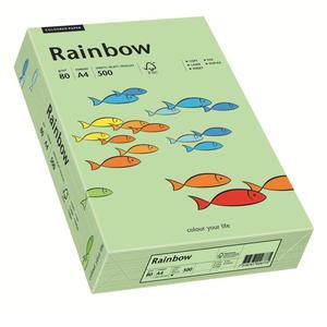 Papier xero A4 kolor RAINBOW past. - j.zieleń 75 - 2825403095