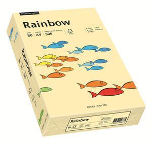 Papier xero A4 kolor RAINBOW past. - kość słoń 06 - 2825403098