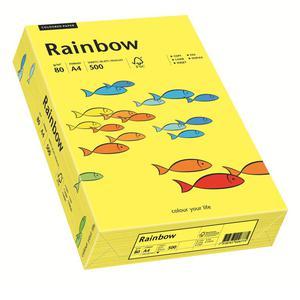 Papier xero A4 kolor RAINBOW past. - sł.żółty 14 - 2825403099