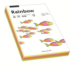 Papier xero A4 kolor RAINBOW - mix kolor pastelowy - 2825403100