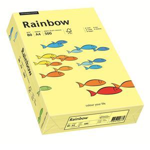 Papier xero A4 kolor RAINBOW past. - j.żółty 12 - 2825403135