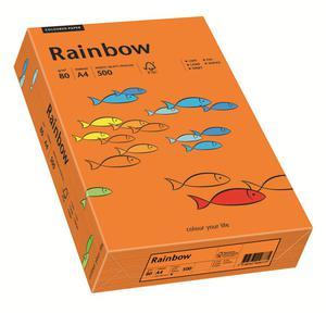 Papier xero A4 kolor RAINBOW intens. - c.pomarań - 2825403140