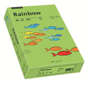 Papier xero A4 kolor RAINBOW intens. - zieleń 76