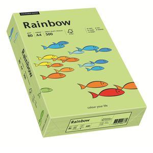 Papier xero A4 kolor RAINBOW intens. - j.zieleń 74 - 2825403142