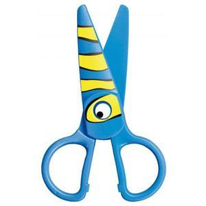 Nożyczki szkolne KEYROAD Kids Pro 13cm bezpieczne pakowane na displayu mix kolorów - 2891744317