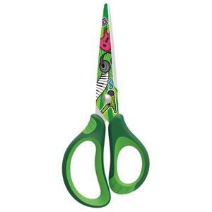 Nożyczki szkolne KEYROAD Tatto soft 15cm pakowane na displayu mix kolorów - 2891744329