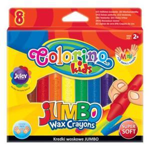 Kredki COLORINO świecowe 8k. Jumbo - 2891745057