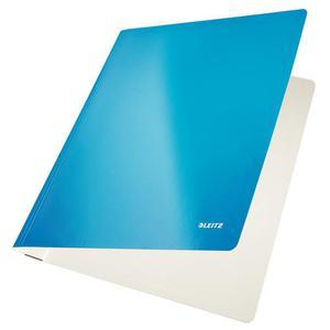 Skoroszyt LEITZ kartonowy WOW - niebieski - 2825403271