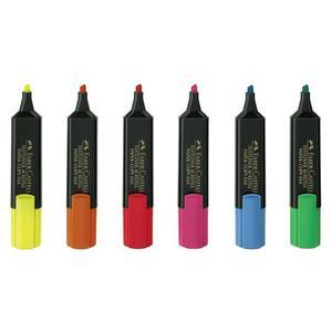 Textmarker FABER CASTELL - żółty - 2825403453