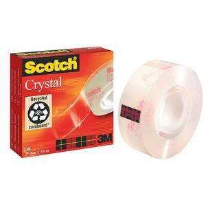 Taśma biurowa 3M Scotch Cristal 600 19x33m - 2825398869