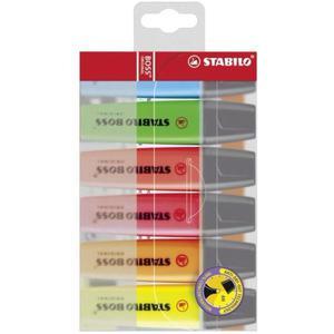 Textmarker STABILO Boss kpl.6szt. - 2825399353