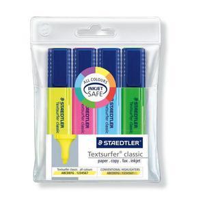 Textmarker STAEDTLER S364 kpl.4 - 2825399362