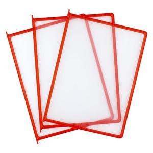 Ramka panel prezentacyjny D.RECT - czerwone - 2825403766