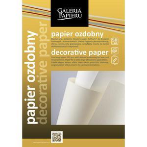 Papier ozdobny ARGO 220g. - batik srebro - 2825403835
