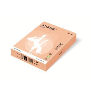 Papier xero A4 kolor Maestro Pastel - łosoś SA24 - 2825399590