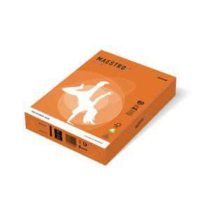 Papier xero A4 kolor Maestro Intens - pomarań OR43 - 2825399606