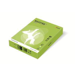 Papier xero A4 kolor Maestro Intens - limonka LG46 - 2825399608