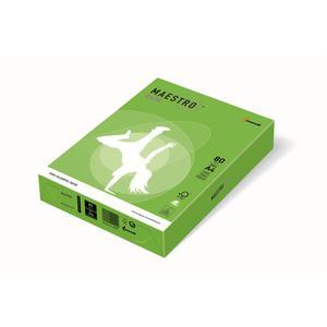 Papier xero A4 kolor Maestro Intens - zielony MA42 - 2825399609