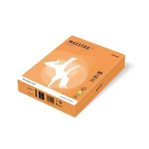 Papier xero A4 kolor Maestro Neon - pomarańczowy - 2825399611