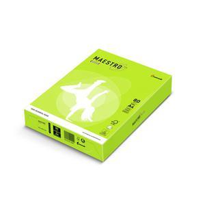 Papier xero A4 kolor Maestro Neon - zielony - 2825399612