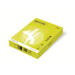 Papier xero A4 kolor Maestro Neon - żółty - 2825399613