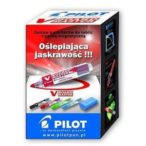 Marker PILOT suchościeralny V-Board Master kpl.4 - 2825404177