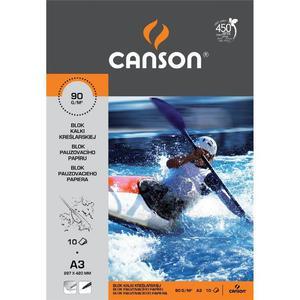 Kalka kreślarska CANSON A4 90g. 10k. - 2825404412