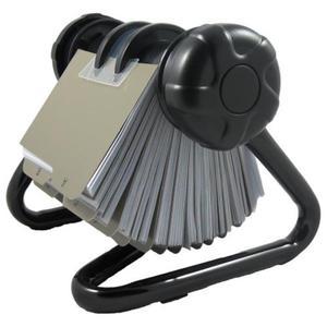 Wizytownik obrotowy OK-OFFICE - czarny - 2825404505