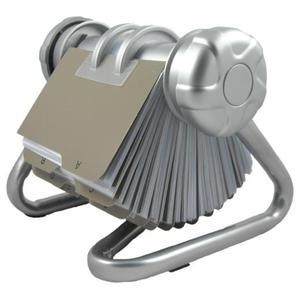 Wizytownik obrotowy OK-OFFICE - srebrny - 2825404830