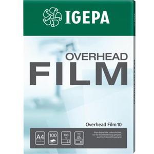 Folia do rzutnika IGEPA Film A4 Film 10 op.100 - 2825404987