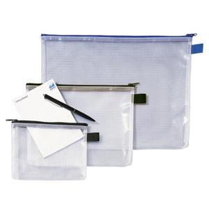 Teczka na suwak REXEL Zib-Bag z siatki A4 - 2825405197