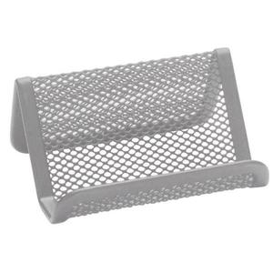 Przybornik metal Q-CONNECT stojak na wiz - srebrny - 2825405483
