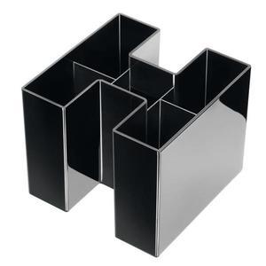 Przybornik na biurko HAN Bravo - czarny - 2825405490