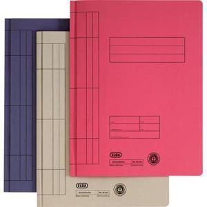 Skoroszyt ELBA kartonowy A4 - niebieski - 2825399967