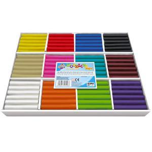 Modelina KOMA 12 kolorów x 15szt. op.MAX - 2825405854